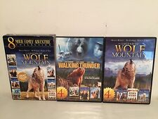 DVD The LEGEND OF WOLF MOUNTAIN 8 Movie Family Adventure Collection