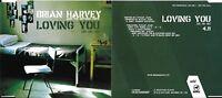 """MAXI CD 1TITRE COLLECTOR BRIAN HARVEY """" LOVING YOU """" DE 2001 RARE"""