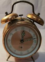 Vintage Merit Alarm Clock imported from Germany Keeps time. Wind daily