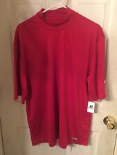 Russell Athletic Red Dri-Power Tee Adult Size Large - NEW with TAGS