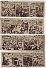 Steve Canyon by Milton Caniff - 12 daily comic strips from May & June, 1955