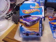 Hot Wheels HW Racing '12 Blue '67 Pontiac GTO