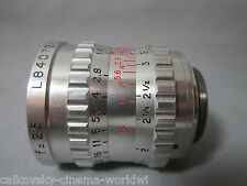 SUPER-16 SOM BERTHIOT 1.8/25mm C-MOUNT ZOOM LENS BMPCC 16MM MOVIE CAMERA