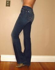 Seven 7 For All Mankind $189 Karah Form-Fitted Bootcut Jeans BMA Medium-Dark 26
