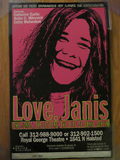 Love Janis The Songs, The Letters, The Life of JANIS JOPLIN Theatre PINK Poster