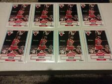 1990/91 Fleer Michael Jordan #26 Lot of 8