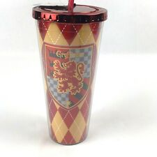 SPOONTIQUES 21609  GRYFFINDOR FOIL CUP W/STRAW