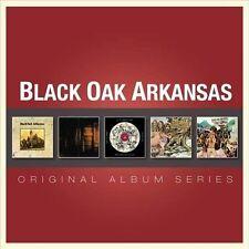 BLACK OAK ARKANSAS - Original Album Series (5-CD-Set) S/T - High On The Hog +3