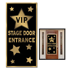 HOLLYWOOD PARTY CELEBRITY AWARDS VIP ENTRANCE DOOR BANNER SIGN PROP DECORATION