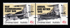 1995 Christmas Island Anniversary of End of WWII - MUH Horizontal Pair