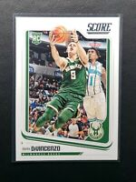 2018-19 Chronicles Donte DiVincenzo RC, Rookie Card Score, Milwakee Bucks