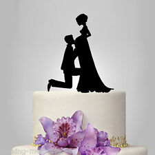 Our stunning silhouette pregnant  Bride & Groom Wedding cake Toppers