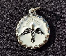 Holy Spirit medal - Rome - Pendant - Charm - Blessed by Pope