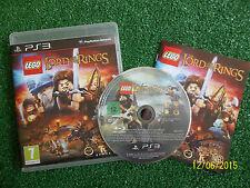SONY PLAYSTATION 3 GIOCO LEGO IL SIGNORE DEGLI ANELLI + scatola + istruzioni complete