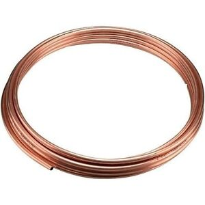 NEW 8mm microbore copper central heating/plumbing pipe/tube x 1M Metre 39 inches