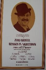 BROADWAY  POSTER-ULYSSES IN NIGHTTOWN  ORIGINAL WINDOW CARD ZERO MOSTEL
