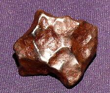 Sehr schöner Meteorit Sikhote-Alin, Heilstein, 24x22x11mm 13,2g