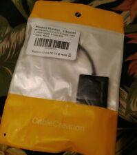 Cable Creation Mini Displayport to DVI (24+5) (DVI-I) Adapter