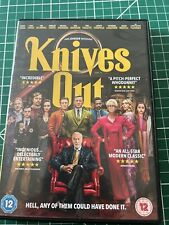 Knives Out (DVD, 2020) - DISC IMMACULATE - FREE P&P
