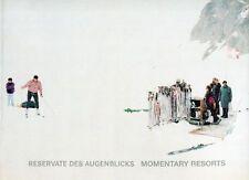 NIEDERMAYR Walter, Reservate des augenblicks. Momentary Resorts. Cantz Verlag
