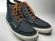 MEN'S CONVERSE ALL STAR GRAY LEATHER  HI TOP CASUAL SHOES  SIZE 9