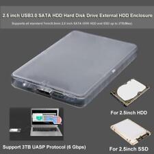 2,5 Zoll USB 3.0 SATA HDD Festplatte externe HDD Gehäuse Case Box