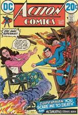 ACTION COMICS #416 VG/F, SUPERMAN, METAMORPHO, Nick Cardy C, DC Comics 1972