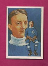 1987 HALL OF FAME FLACONS STEAMER MAXWELL ELECTED 1962 MINT CARD (INV#6633)