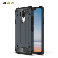 For LG G5 G6 G7 ThinQ Shockproof Armor Hybrid Soft TPU+ PC Back Case Skin Cover