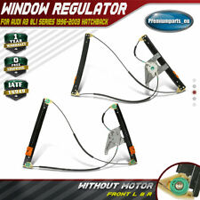 2x Electric Window Regulator for Audi A3 8L1 96-03 2/3 Doors Front Left & Right