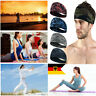 Sport Sweat Schweißband Stirnband Yoga-Gymnastik Stretch-Haar-Band Unisex Mode-X