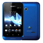 Sony Xperia Tipo ST21i Navy Blue Blau Android Mit Branding Ohne Simlock