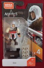 MEGA CONSTRUX ASSASSIN'S CREED SERIES 4 Ezio New 2019