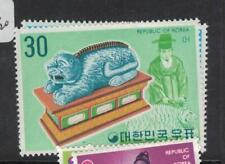 "Korea ""Temple"" Set Two Values MOG (8dve)"