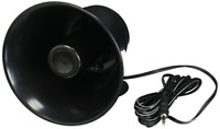 Black ABS Weather Proof PA Speaker Horn CB Radio Outdoor Siren Game Call 15w New