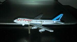 Micro Machines Boeing 747 Jumbo Jet AIR GATAR Vintage