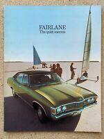 c1974 Ford Fairlane original Australian sales brochure