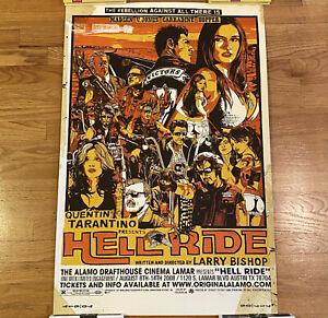 Hell Ride - Tyler Stout - Mondo Print Alamo Drafthouse Quentin Tarantino