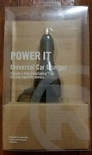 Power It Universal Car Charger 3-12VDC 2.5A. ADAPTAPLUG TIP NOT INCLUDED