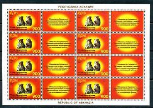Abkhazia 1997. 70 years of the Sukhumi monkey nursery. Satellite.
