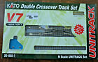 Kato V7 UNITRACK Double Crossover Track Set 20-866-1