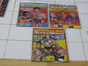 WRESTLING SUPERSTARS  MIXED ISSUES MANY MORE TO COME ENTIRE COLLECTION