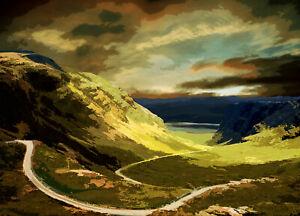 Applecross Scotland Limited Art Print by Sarah Jane Holt