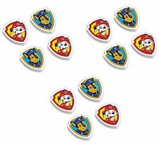 12 Paw Patrol Rubbers Erasers - Birthday Party Loot Bag Fillers / Favor Toys