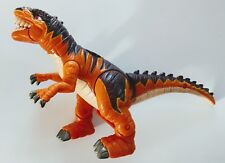 2004 Mattel Imaginext Dinosaurs Slasher the Allosaurus Fisher-Price Orange Brown