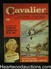 Cavalier Mar 1960 Mickey Spillane,Marilyn Monroe
