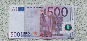 Echter 500Euro Geldschein Sammler X-Serie 2002