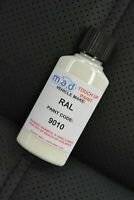 RAL 9010 PURE WHITE TOUCH UP KIT REPAIR KIT PAINT WITH BRUSH SCRATCH PAINT