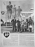 PUBLICITÉ DE PRESSE 1960 BP STATION SERVICE VISITER LA GRÈCE ILS EN RÊVENT TOUS