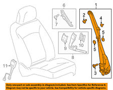 Chevrolet GM OEM 14-16 Malibu Front Seat Belts-Belt & Retractor Right 19332408